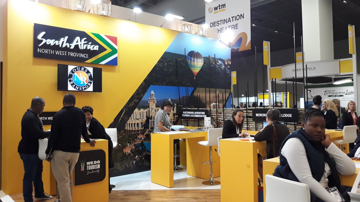 Gonna be another great and buzzing day at @WTM_Africa #WTMA18 #wtm18 our last day before going back to #Hermanus. @SATourismOnline @SA_ThruOurEyes @deoudehuize<br>http://pic.twitter.com/WI5Wrg4sWh
