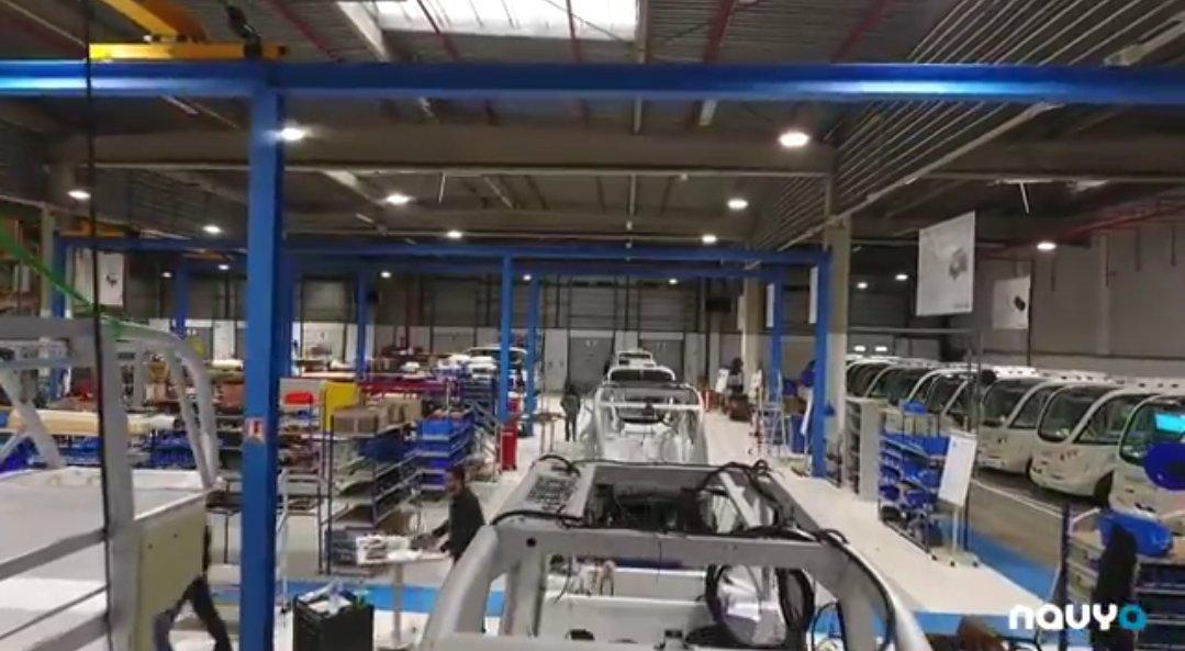 #video: Enter the #Navya factory in #Lyon, #France   https:// youtu.be/njyEcbvC2K8  &nbsp;   #autonomous #smartcity #ai #Iot #robot #tech #5g #driverless #selfdriving #mobility #automotive #startup #future #technology #transportation #technews #robotics #startups #travel #smartcities #robots #bus<br>http://pic.twitter.com/X6atzrH73m