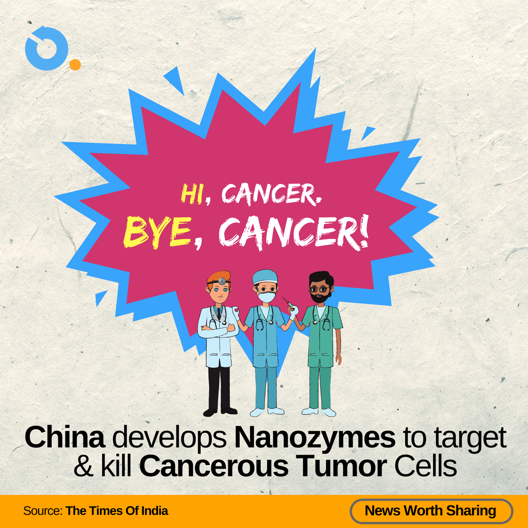 #OncoDotCom #ShareAble #CancerNews - #China has announced the development of #Nanozymes to selectively target and kill Cancerous Tumor Cells! Read more at:  https:// timesofindia.indiatimes.com/home/science/c hinese-scientists-develop-nanozymes-to-target-cancerous-tumour-cells/articleshow/63830799.cms &nbsp; … <br>http://pic.twitter.com/lsOwr4zhND