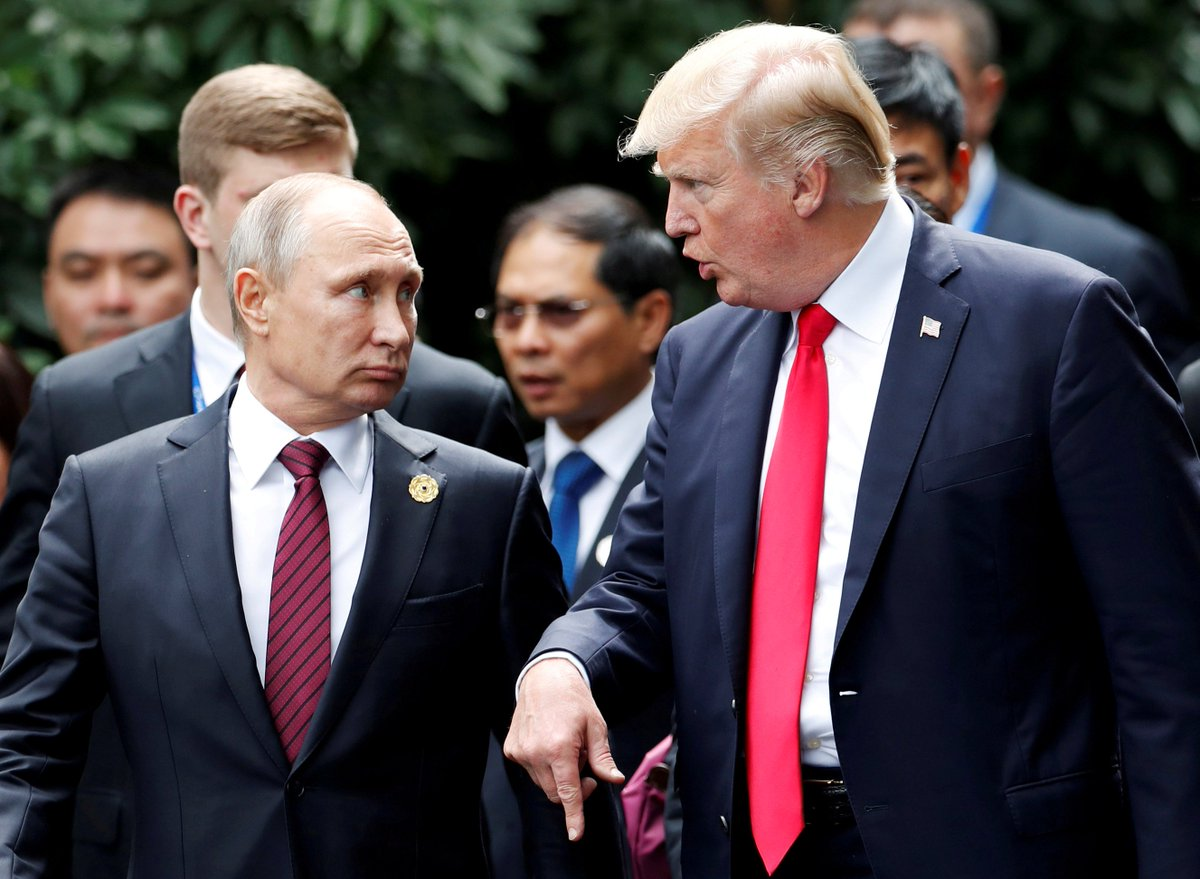 #Trump invites #Putin to White House, says would be happy to make reciprocal #Russia visit https://t.co/xTuo96lVMi