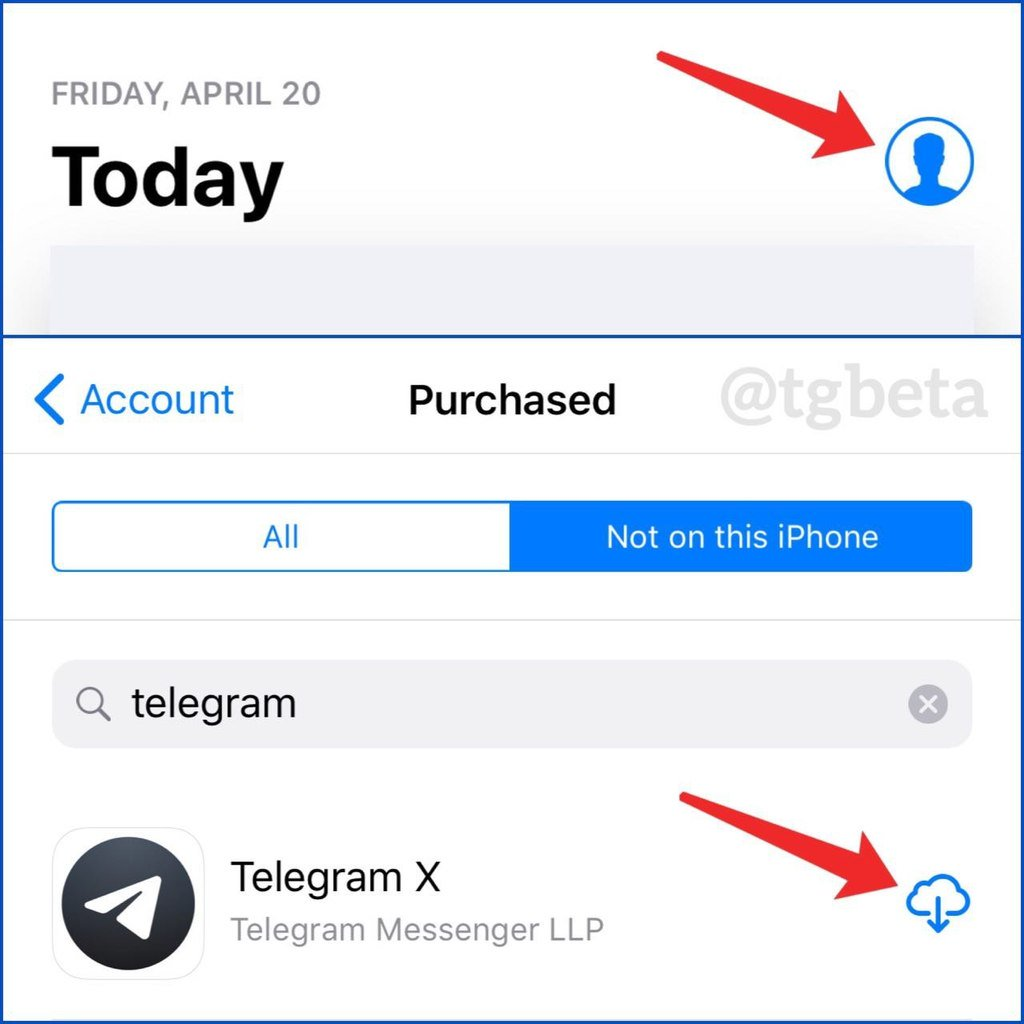 Telegram Beta on Twitter: