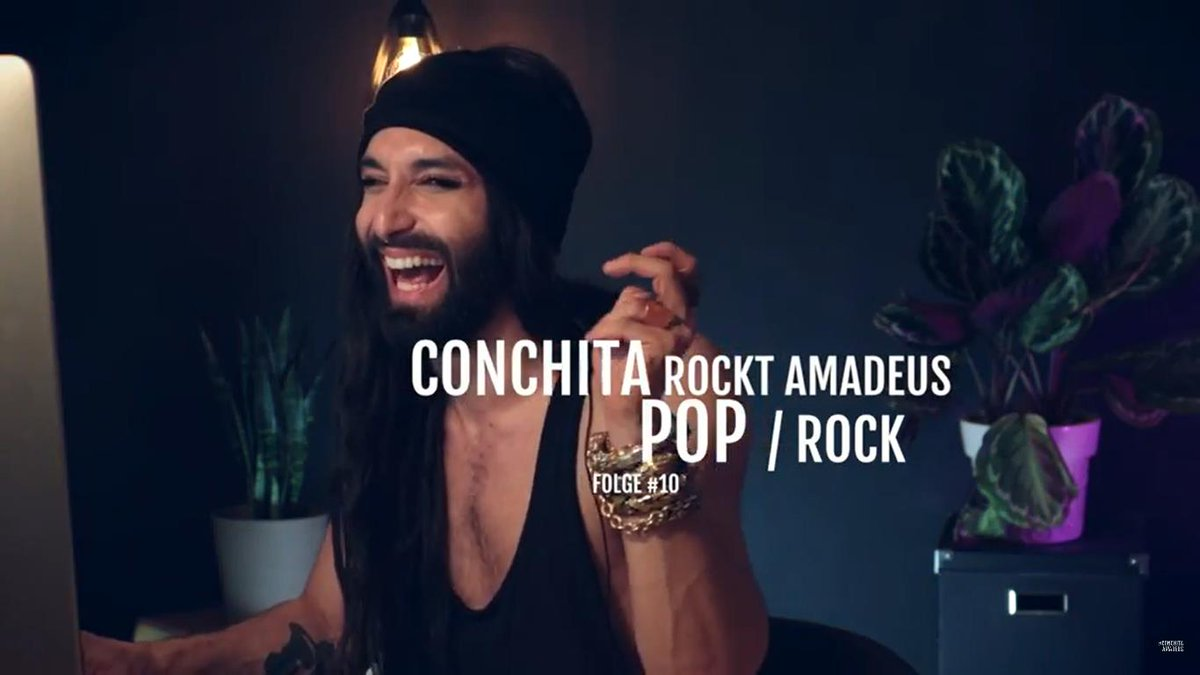 Thy @ConchitaWurst / Tom for lightening up my life with your great music, ingenious humor and admirable positivity  #Conchita #ConchitaWurst #TomNeuwirth #ConchitaAmadeus #host #preparation #AAMA2018 #AmadeusAustrianMusicAwards #orf #tv 26.04.18  https://www. youtube.com/watch?v=jyCeXG YhbBI &nbsp; … <br>http://pic.twitter.com/wFKARx3wN9