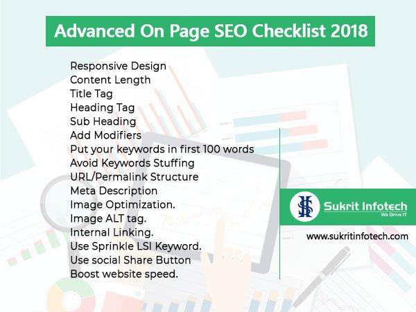 Advanced On-Page SEO Checklist 2018.  #marketing #marketingtips #b2cmarketing #b2bmarketing #strategy #mktg #digitalmarketing #marketingstrategy #mobilemarketing #socialmediamarketing #promotion #Webdevelopment #webdesigning   http://www. sukritinfotech.com/blog/advanced- page-seo-checklist-2018/ &nbsp; … <br>http://pic.twitter.com/g6lfLBRl6X