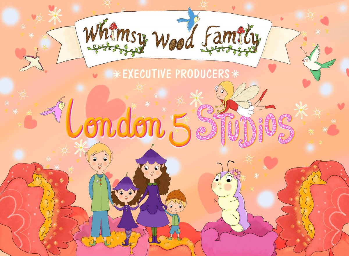 London 5 Studios presents WHIMSY WOOD FAMILY new #childrens #brand #books &amp; #animated #Television #series  @melanielondon5 @sharonfLondon5 @LeeHStraight @AuthorsCare @King_Cavalli @theverkosshow @alicia_arlandis @kidscookingnw @mrrockballoon<br>http://pic.twitter.com/7oqFNI6dB9