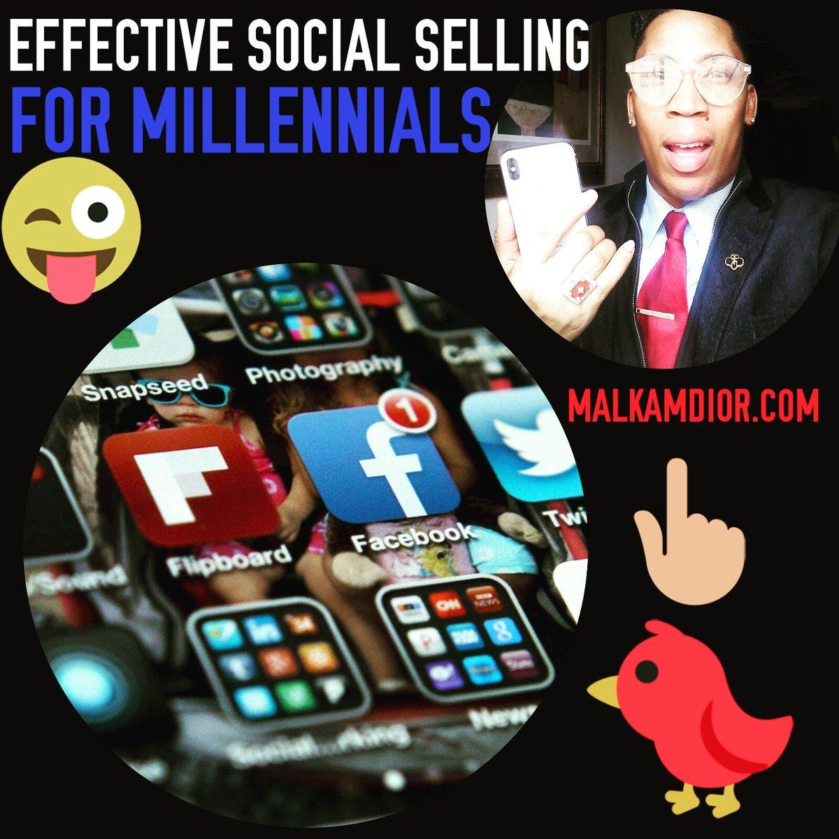 Learn about Effective Social Media Selling for Millennials -  http:// MalkamDior.com  &nbsp;    #SocialMedia #DigitalMarketing #Smtip #ContentMarketing #SMM #SMO #SEO #SEM #defstar5 #Contentstrategy #GrowthHacking #spdc #InboundMarketing  #InternetMarketing  https:// seo-malkamdior.blogspot.com/2018/04/effect ive-social-selling-for.html?m=1 &nbsp; … <br>http://pic.twitter.com/ZAJy7kK7JP &ndash; à Millennial Advisers, LLC.