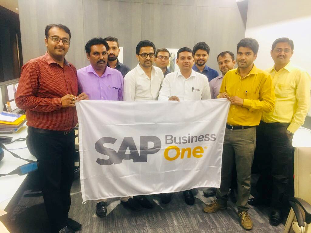 One of the leading Precast Concrete Manufacturing company (Part of Japan's leading group) with rich experience in Design, Development &amp; #Manufacturing of high-quality #precastconcrete products in #Ahmedabad celebrating #GoLive on #SAPBusinessOne with @UneecopsTech team #SAP #ERP<br>http://pic.twitter.com/rl5oBOzB8e