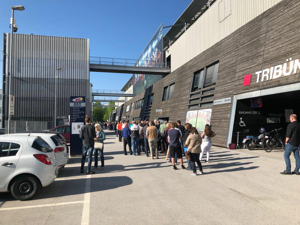 🇦🇹Les places s'arrachent aussi du côté de Salzbourg ! #TeamOM #OM