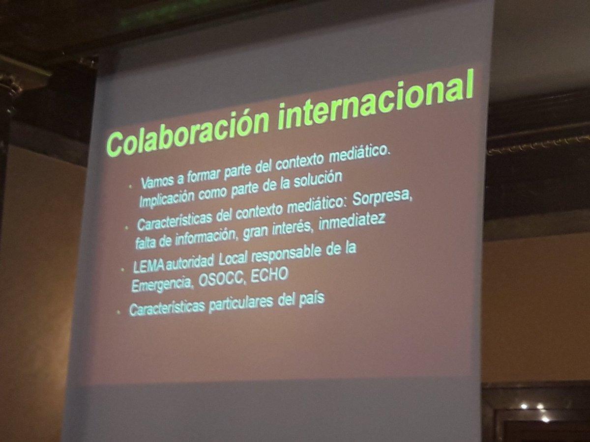 #EmerCom ''Colaboración internacional: L...
