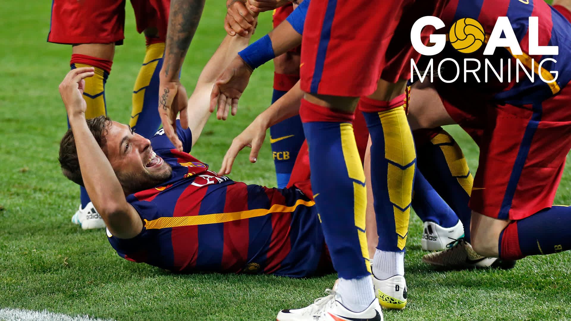G⚽AL MORNING!!! One day left... #CopaBarça @JordiAlba �� Sevilla �� 2016 https://t.co/HiRzu6rLtZ
