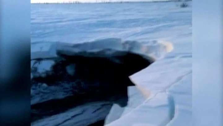 Descubren lago de agua tibia en localidad rusa de muy bajas temperaturas