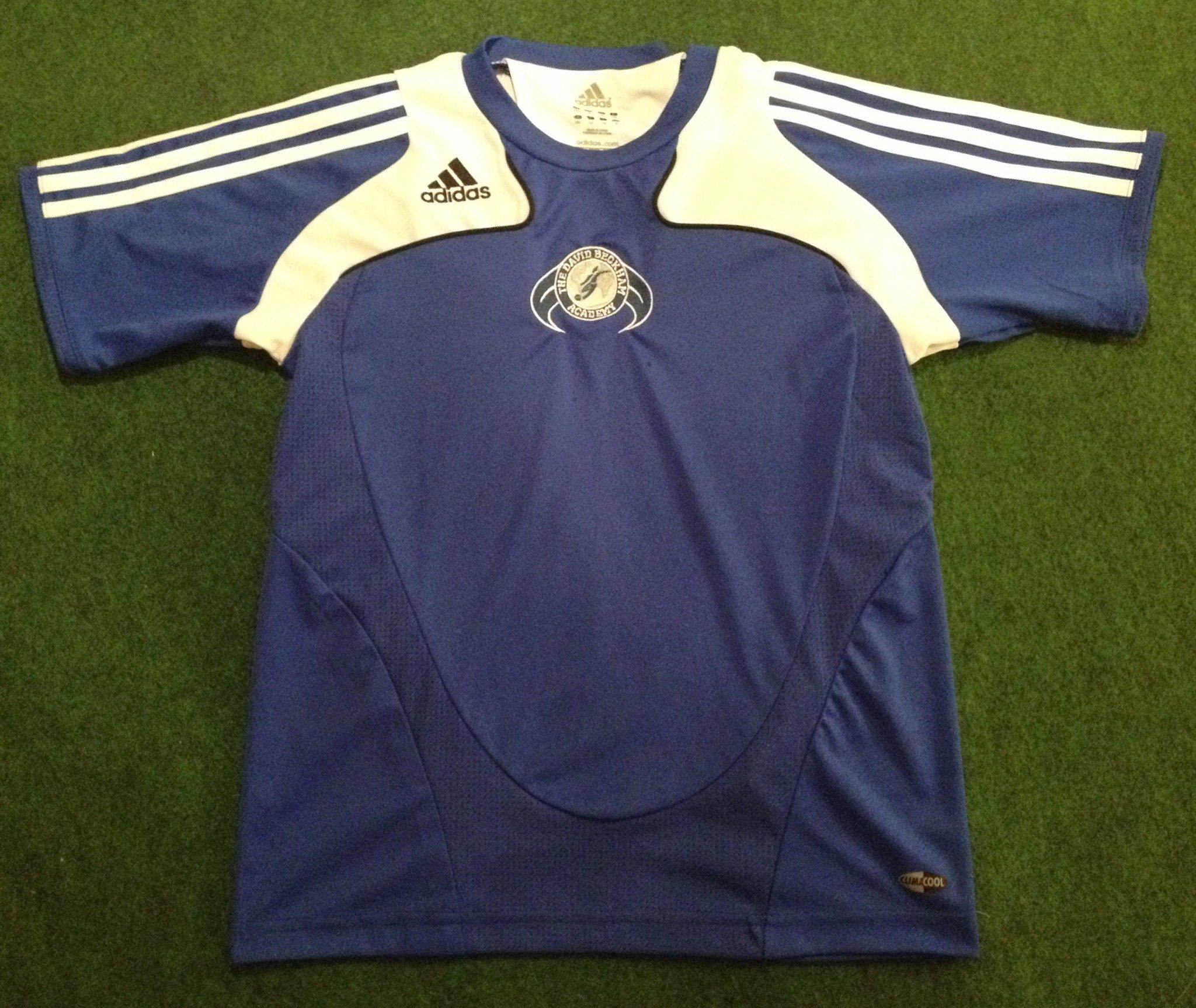 The David Beckham Academy Football Shirt (Medium Boys) by @The Kitman - https://t.co/fKcopbY3qB https://t.co/dkf4xnZxTJ