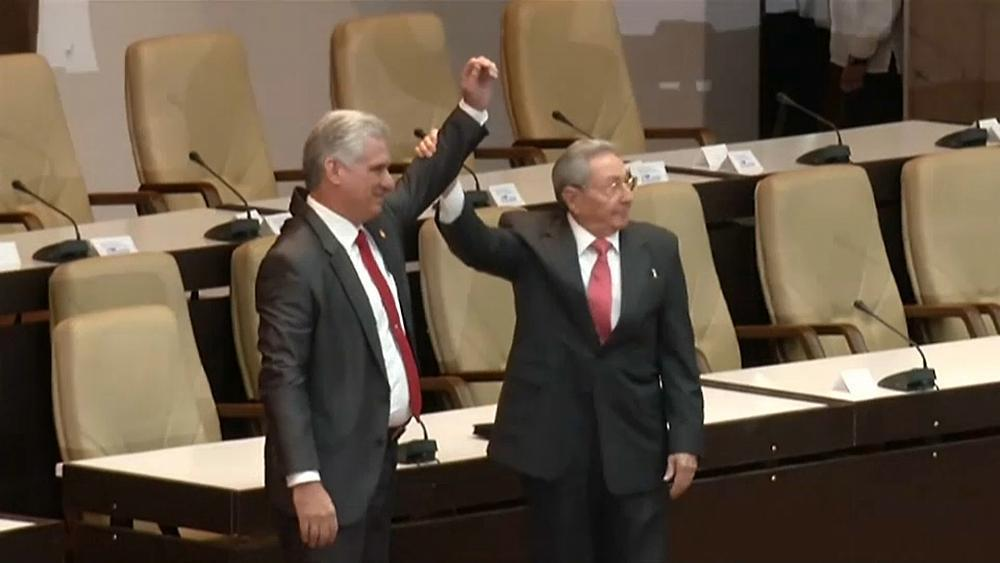 The United States says Cuban people will not gain greater freedoms under Cuba's newly installed president.  Miguel Diaz-Canel began his term on Thursday promising to defend the socialist revolution and modernize the island's economy.  https://t.co/4zHshlZyGB