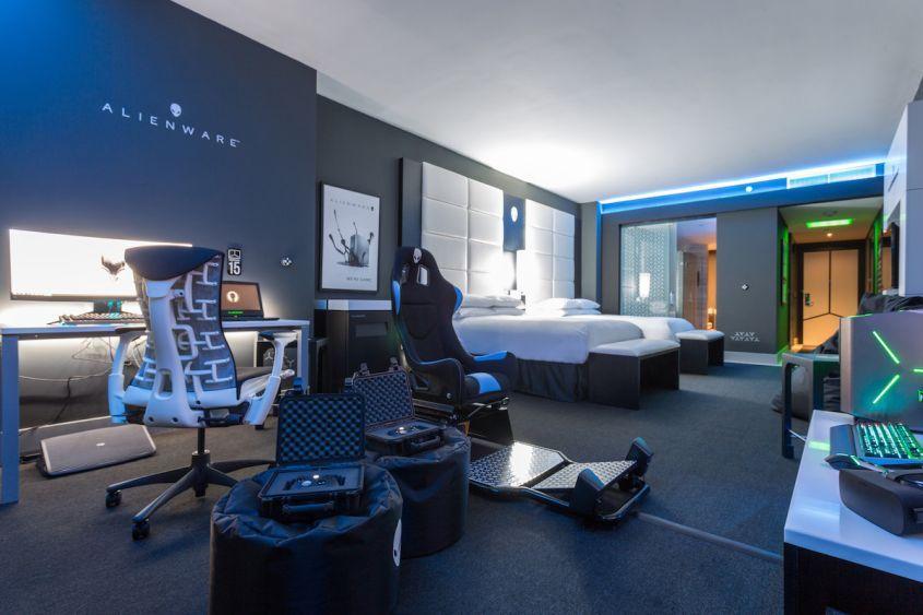 &quot;Alienware built a decadent gaming hotel room at the Hilton Panama  https://www. theverge.com/circuitbreaker /2018/4/20/17260880/alienware-hotel-room-hilton-panama?utm_campaign=theverge&amp;utm_content=chorus&amp;utm_medium=social&amp;utm_source=twitter &nbsp; …  <br>http://pic.twitter.com/zgshZrFu7K&quot; #tech #technology #future #programming #Programmer #Java #javascript #code #coding #MySQL #Python #Ruby #Swift #DevOps #API #php #Linux #webdev #AI #tech #Oracle …