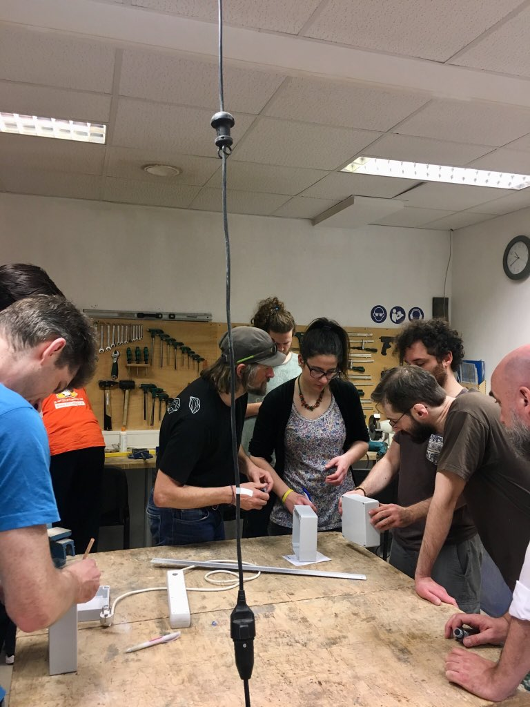 test Twitter Media - Drilling holes for the #ozone #sensor @captor_air workshop #airpollution #CitizenScience https://t.co/znWbEyOBB1