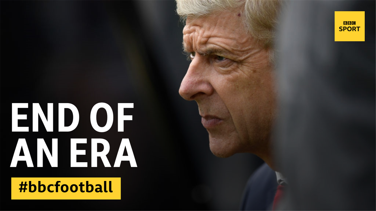 After 22 years, 10 major trophies, more than 800 Premier League games, Arsene Wenger has announced his time as Gunners boss is coming to an end.  He will always have a place in Arsenal history.  More: https://t.co/FdScP24wIb
