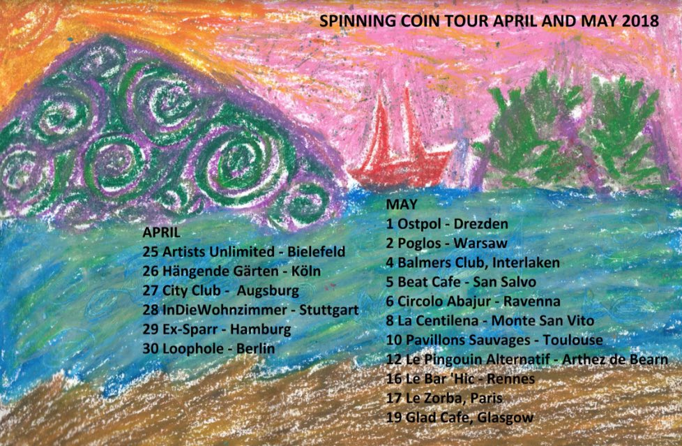 Spinning Coin On Twitter Here S A List Of Our Upcoming Dates In