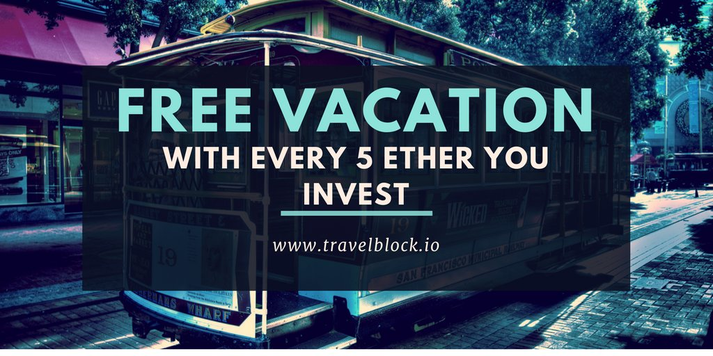 This could be the only reason you invest! A free 1 week vacation!!! Check it out people! @trvlblock #Suppoman #ianbalina #ICOs #cryptocurrency <br>http://pic.twitter.com/3ZJ9y8hnpZ