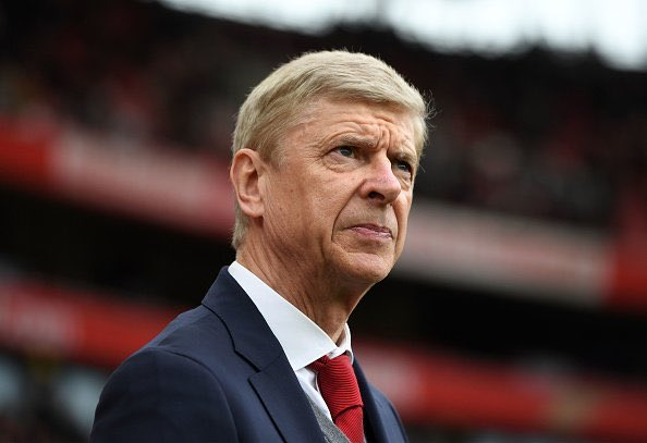 BREAKING: Wenger out.