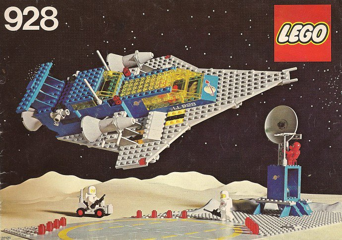 928-1: Space Cruiser And Moonbase, 1979 #LEGO <br>http://pic.twitter.com/wTFjmSqbyU