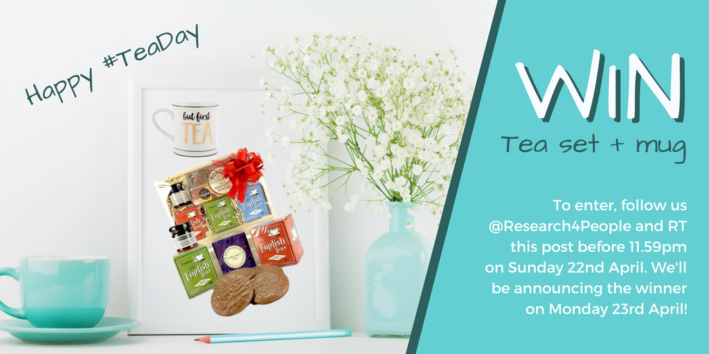 Need something to boost your #FridayFeeling? To celebrate #TeaDay tomorrow, we&#39;re giving away a hamper full of tea-related goodies, plus an adorable mug! To enter, simply #retweet this tweet &amp; make sure you&#39;re #following us! T&#39;s &amp; C&#39;s apply. Good luck!<br>http://pic.twitter.com/ICXnrWOepS
