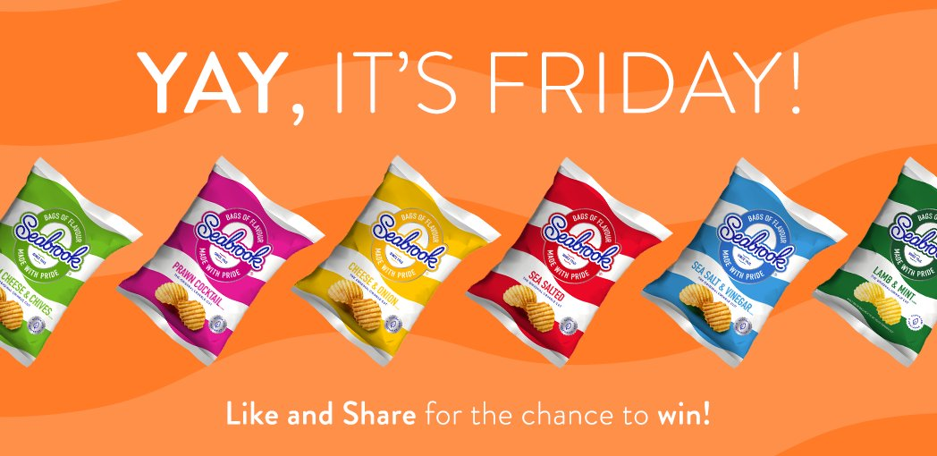 Happy Friday!! #RT &amp; Follow for the chance to #win a box of crisps!  (UK Only) #fridayfeeling<br>http://pic.twitter.com/HAyDD0tECC