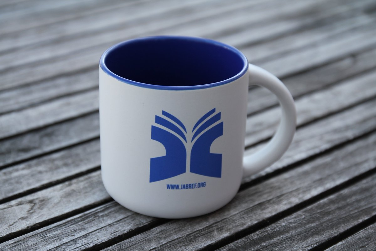 Our new #jabref mugs have just arrived! Time for a coffe or tea?  We love them, what about you?  Promote free software in your institution #jabref #academia #tex #opensource #bibliography  http:// Werbemittel24.com  &nbsp;  <br>http://pic.twitter.com/m7eYjQRU5k