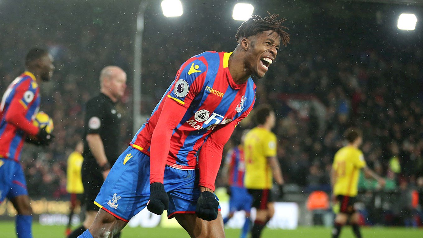 Zaha: I don't see myself anywhere else  �� https://t.co/zcTTA80FEt https://t.co/zWp1QIZoQw