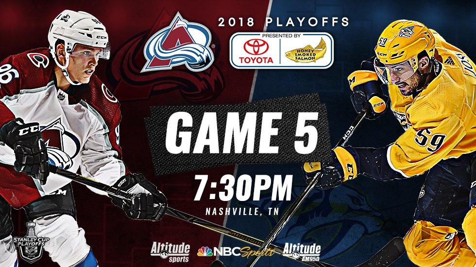 Tonight, we must #BeatThePreds.  LET'S DO THIS.  #StanleyCup #GoAvsGo