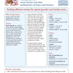 Image for the Tweet beginning: PAC-UK Training: Enabling effective contact