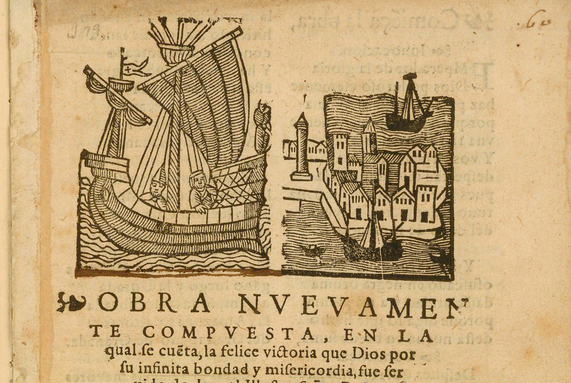 Thrilled to add audio to the &quot;Felice Victoria,&quot; Bartolome de Flores&#39; quirky 1571 ode to Pedro Menendez and the founding of St. Augustine. #USFSP&#39;s own Christina Lopez reads the Spanish, which Tom Shields and I translated in @CommonplaceJrnl.   Listen here:  http:// earlyfloridalit.net/?page_id=1296  &nbsp;  <br>http://pic.twitter.com/8PCNE8neYt
