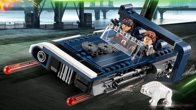 &quot;Solo: A Star Wars Story&quot; #LEGO Sets - Have a look at Han&#39;s Speeder, Imperial Battle Pack. @LEGO_Group #LEGOStarWars  https:// makingstarwars.net/2018/04/solo-a -star-wars-story-lego-sets-have-arrived/ &nbsp; … <br>http://pic.twitter.com/6U7IEK6twk