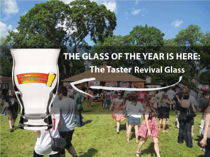 The Glass of the Year Reveal We are excited to share with you the glass we've chosen for this year! The Taster Revival Glass design comes with your ticket purchase, and will be great to add to any collection. http://nephillybeerfest.com/