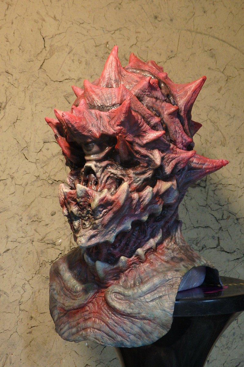 オリジナルクリーチャーマスク 『マホーツ貝』 #Mask