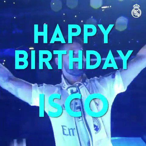 🎁🎉🎂 Happy Birthday to @isco_alarcon, who...
