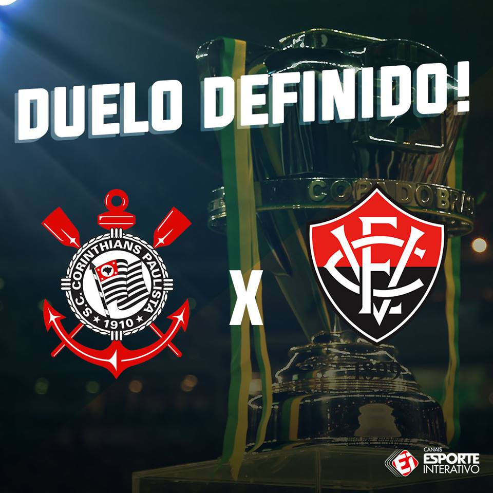 DUELO DEFINIDO! O @Corinthians enfrenta...