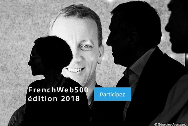 [Appel à candidatures] Le classement #FrenchWeb 500 – édition 2018 https://t.co/dG149KXl0C #FW500