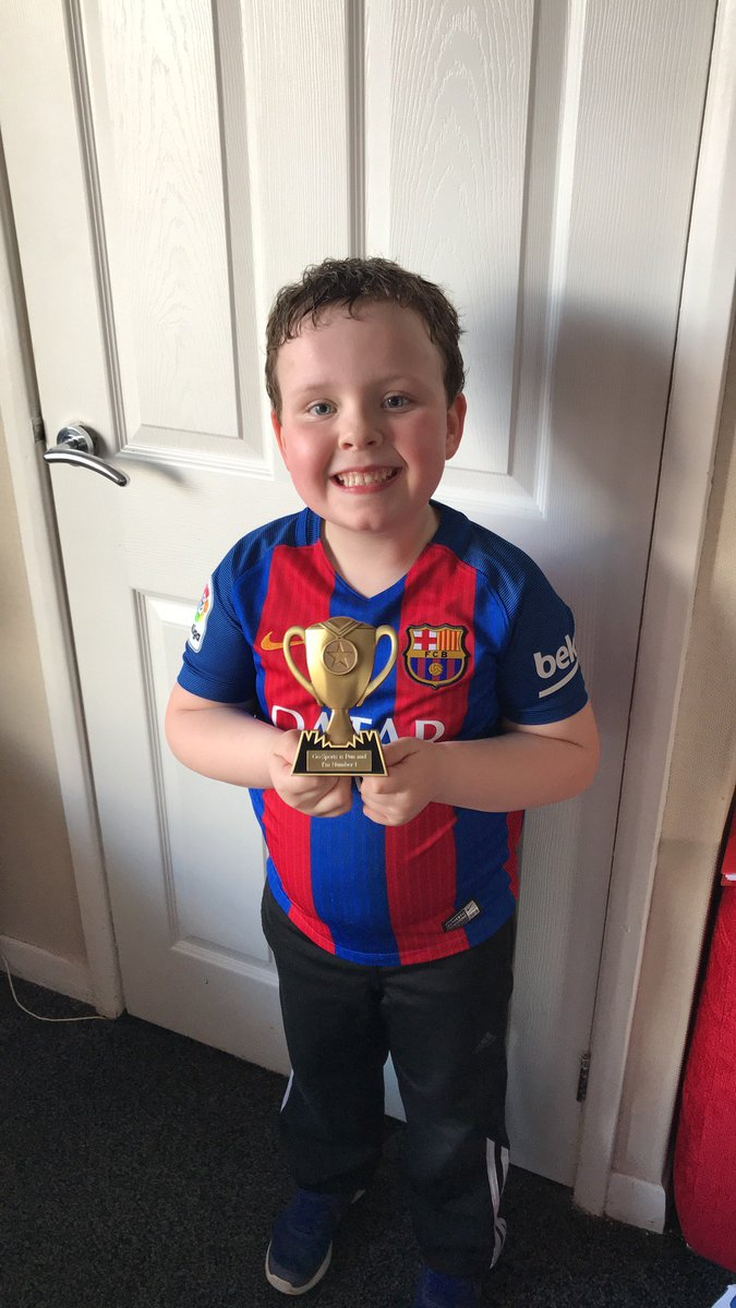 A well deserved Proud Cloud for James this morning for being &#39;Star of the Week&#39; at Go Sports. #achievement #ambition #teamwork #wellbeing<br>http://pic.twitter.com/ExyJBWX395