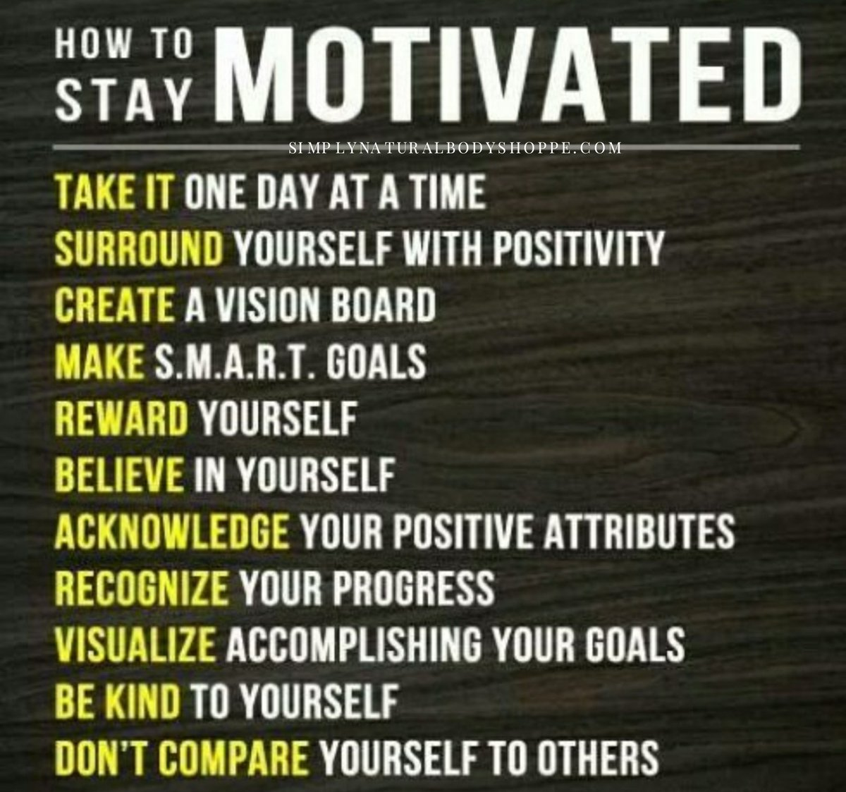 Gotta stay motivated to reach your goal! #motivation #belief<br>http://pic.twitter.com/8JXFpewBud