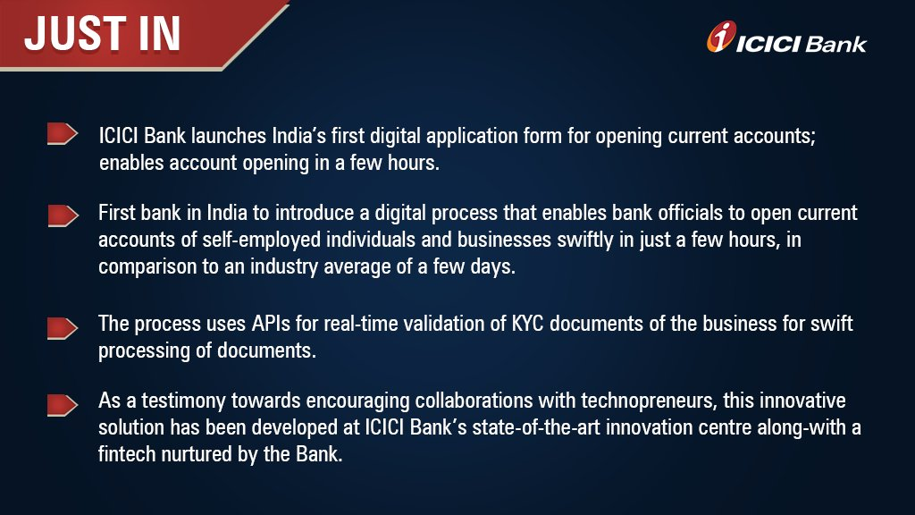 ICICI Bank on Twitter: