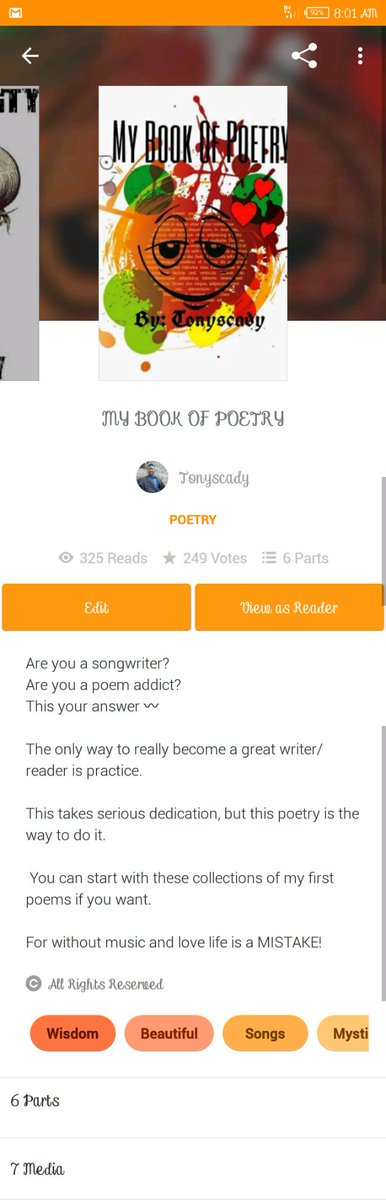 Check this out on wattpad   http://Www. wattpad.com/tonyscady  &nbsp;   #tonyscady #Wattpad #horrorprompt #horror #AuthorYourFuture #AfricaatWork #authors #poem #POEMS #poetry #potes<br>http://pic.twitter.com/oSTfrLdgZM