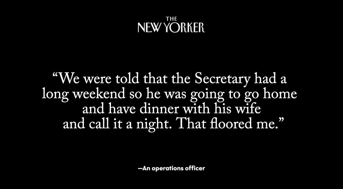 In April of last year, when the United States initiated strikes on Syria, it was early on a Sunday afternoon, and Rex Tillerson was in Washington and unoccupied: https://t.co/ICEMwmTcgy