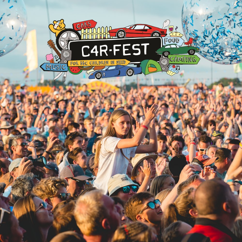 Limited tickets available for @Carfestevent North (27-29 July) and South (24-26 August). If you can't make the full weekend, don't forget there are still day tickets remaining for both North and South. #carfest2018 > https://t.co/eEvDb9T6rY