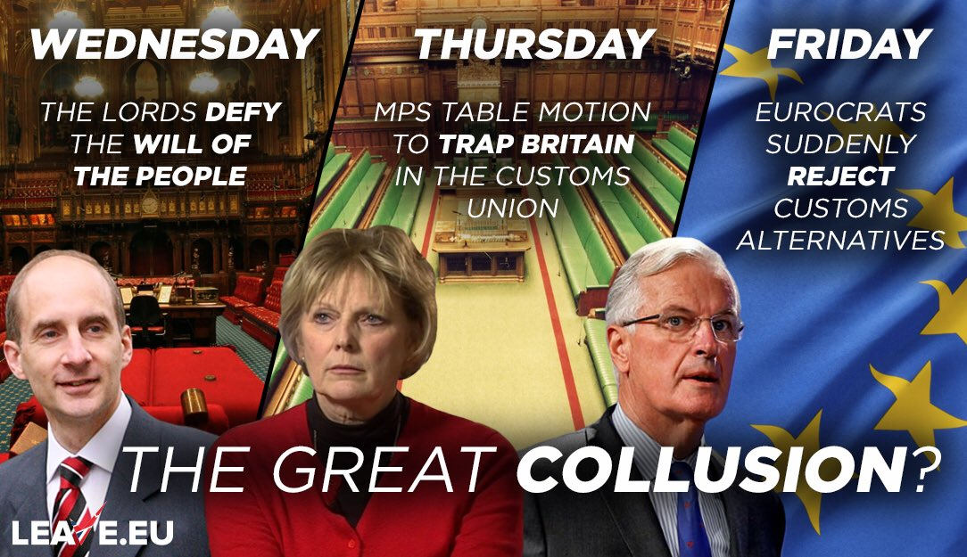 These coordinated assaults are no coincidence. #Brexit is being attacked from all sides of the #politicalelite the #MAGGOTS who simply refuse to accept the will of the people. We must keep fighting These filthy #TRAITORS! #BBC #SKY @LBC #LBC @ConHome @Conservatives @theresa_may<br>http://pic.twitter.com/HnBoVsON2w