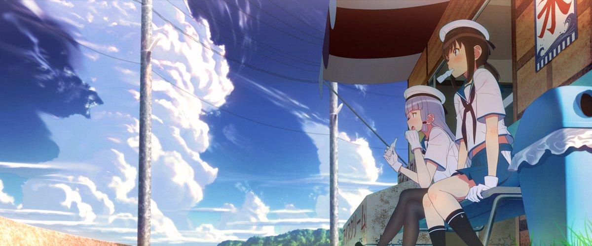 正面絵と叢雲とのツーショットの多い、我が初期艦の吹雪です #ふぶならべ