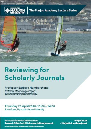 Great to see Prof. Humberstone will be joining us in person this coming week in Plymouth  #journals  ALL welcome to attend @MarjonUniOAE @rjhsailor @IzzyCramp @UniEducator @ACEResMarjonUni @BenJaneFitness @kcorish @kassgibson<br>http://pic.twitter.com/vcWWSvipu8