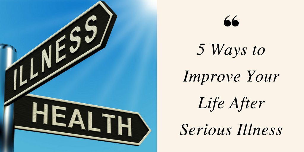 Are you recovering from illness? Congratulations! 5 Ways to #improve Your Life After Serious #Illness #cancersurvivor #Surgery #Healthy #lifestyle #FridayFeeling  https:// buff.ly/2Ha1sLu  &nbsp;  <br>http://pic.twitter.com/psTqajjlkF