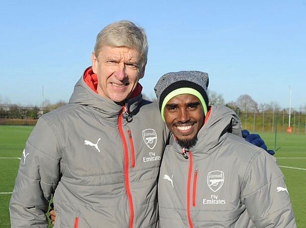 Sir Mo Farah's photo on #Arsenal