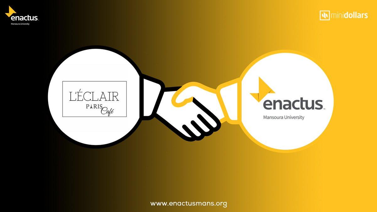 From Paris with love ,L&#39;eclair Paris is now one of our sponsors in MiniDollars final competition event.   http:// Fb.com/LEclairParisCa fe &nbsp; …   #enactus #enactusmans #business #entrepreneur #MiniDollars #ClassOf2018<br>http://pic.twitter.com/YN9nMaXPbt