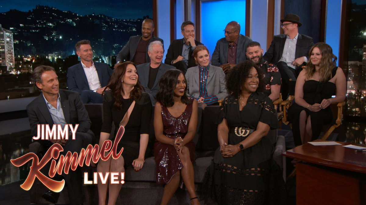 The cast of #Scandal on the last table read, the final day of shooting, and the wrap party... @ScandalABC #ScandalFinale