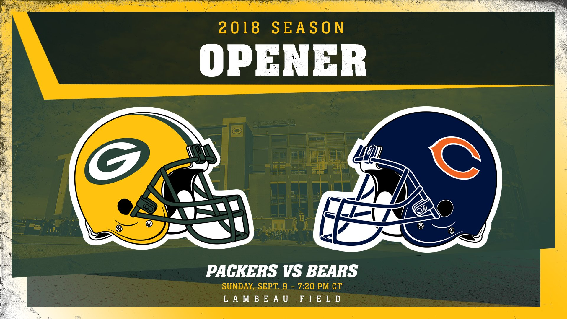 Our historic 100th season begins against our oldest rivals.   ��: https://t.co/CZtmYfCGXE   #Packers100 #GoPackGo https://t.co/CiVGIykE9X